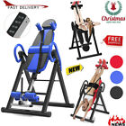 🎄Inversion Table Fitness Chiropractic Back Stretcher Heavy Duty Reflexology Pad image