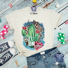 Stuck on You Cactus Shirt-Funny Cactus Tee-Valentine's Day Gift-Cactus Gift Her
