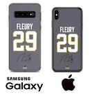 Marc-Andre Fleury Vegas Golden Knights Samsung iPhone Jersey Phone Case Auto $18.64 USD on eBay
