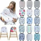 Multifunctional 5In1 Baby Breastfeeding Cover Car Seat Cover Canopy Trendy Scarf