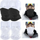 2Pcs Lightweight Neck Gaiter Neck Warmer Face Wrap Windproof Anti-UV Protection