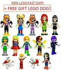 Lego DC Super Hero Girls Minifigures Wonder Woman Batgirl Supergirl Eclipso NEW!