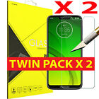2 X FOR MOTOROLA E5,C,G4,G5,G6+,NEW 9H-HARDNESS TEMPERED GLASS SCREEN PROTECTOR