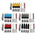 4 Pieces Alloy Shocks For 1:12 D90 Mn-90 Mn-99 Mn-91 Fj-45 Rc Crawlers Car Parts