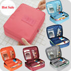 cosmetic clutch travel storage hanging pouch organizer makeup bag toiletry cases