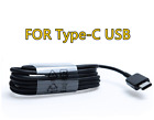 LOT 10/100 Micro USB/Type-C Fast Charging Cable For OEM Samsung Phone Android BK
