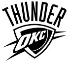 "Oklahoma City Thunder NBA Decal ""Sticker"" for Car or Truck or Laptop on eBay"
