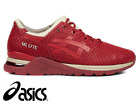 Asics Women's GEL-Lyte Evo Gym Running Crossfit Trainers Burgundy (H6E2N-2625)