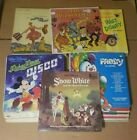 VINTAGE CHILDREN'S RECORDS VARIOUS TITLES DISNEY HAPPY TIME *YOU SELECT TITLES*