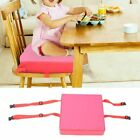 Adjustable Baby Dining Chair Seat Cushion Boost Sponge Chair Pad Belt Removable