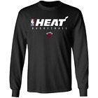 Men's Miami Heat Basketball Logo 2020 Long Sleeve Black T-shirt M-3XL on eBay