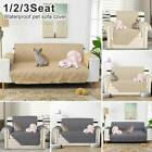 Pet Sofa Cover Lounge Protector Quilted Couch Covers Slipcovers 1/2/3 Seater