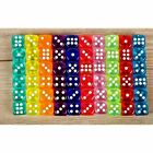 10PCS/Lot Dice High Quality Transparent Acrylic Dice For Club/Party/Family Games