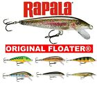 Rapala ORIGINAL FLOATING Fishing Lures X-Rap Predator Lure Tackle Perch Trout