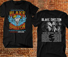 Blake Shelton T-shirt Friends And Heroes Tour 2020 Country Pop Music Tee image