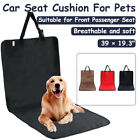 Pet Car Seat Cover Dog Cat Front Back Seat Cover Mat Hammock Cushion Protector