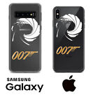 James Bond Special Agent 007 Samsung Galaxy iPhone Custom Clear Phone Case Cover $18.8 USD on eBay