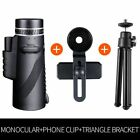 Professional Monocular Powerful Telescope For Smartphone Mobile 40x60 Military