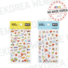 BT21 Character Clear Decoration Sticker Blue & Yellow Ver. Authentic K-POP Goods