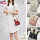 Women Messenger Cross-Body Shoulder Handbag Tote  PU Leather Satchel Bag Purse image