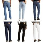 Levis 501 Jeans Mens Original Button Fly Fit Denim Light Dark Blue Black White