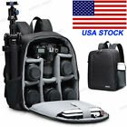 CADeN D6 Black Camera Bag Waterproof Backpack for Canon Nikon Sony Olympus SLR