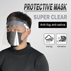 Anti-saliva Cap Full Safety Goggles Splash-proof Face Protective Hat