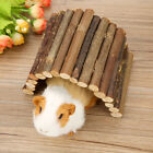 Wooden Pet Reptile Rodents Bridge Stair Blendable Climbing Hamster Pets Toys S/M