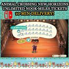 Animal Crossing New Horizons Unlimited Nook Miles | Ticket x10 | Fast Delivery!