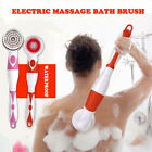 HN- 4-1 Bath Brush Electric Long Handle Spa Shower Body Massage Cleansing Scrubb