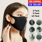 Kyпить Reusable Air Purifying Black Face Cove Mouth Muffle Filter Washable NY Stock  на еВаy.соm