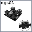 2020 V-Slot X-axis Slider Plate withTiming Belt Buckle Pulley fo TEVO 3D printer