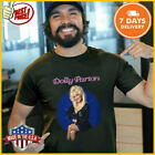 NEWEST Vintage 90s Dolly Parton Dollywood Country T-Shirt Black Unisex Tee S-6XL image