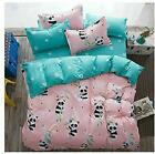 Kfz Girls Kids Baby Panda Bed Set Twin Full Queen Size, 1 Duvet Cover (Without C