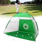 3M Foldable Golf Driving Cage Practice Hitting Training Net Outdoor Garden