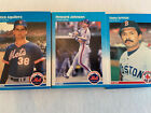 1987 FLEER BASE #1-250 BASEBALL CARDS YOU PICK COMPLETE YOUR SET SINGLES
