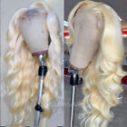 Light Blonde Remy Human Hair Lace Front Wig Full Lace Wigs Pre Plucked Baby Hair
