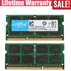 Crucial 8GB 2GB DDR3L 1600 PC3L-12800 204pin 1.35V Sodimm Laptop Memory RAM LOT