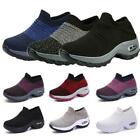 Women's Air Cushion Sneakers Trainers Running Comfy Breathable Gym Sock Shoes
