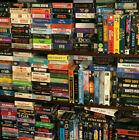 VHS VCR Movies Video Tapes Horror Sci-fi - Choose From List - Combined Shipping