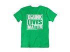 Drunk Lives Matter Shirt Green Clover Funny Drinking T-Shirt St Patricks Day Bar