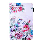 For Amazon Kindle Fire 7 2017 2019 Painted Pattern Leather Stand Case Cover