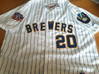 Brand New MILWAUKEE BREWERS #20 JONATHAN LUCROY Majestic special edition Jersey on Ebay