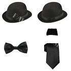 Laurel And Hardy 1920s Double Act TV Film Stag Night Fancy Dress Costume Set