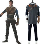 Star Wars Jedi: Fallen Order Cal Kestis Cosplay Costume Uniform Halloween Suit $128.79 USD on eBay