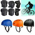 US Adult Kid Protective Bike Helmet Protect Gear Set Cycling Safety Roller Skate
