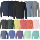 Kyпить Comfort Colors 6014 3 PACK of Garment Dyed Long Sleeve Crew Neck T Shirts! WOW! на еВаy.соm