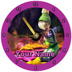 CD Clock Tinkerbell Free Battery Free Gift box Time Xmas Birthday Personalised