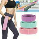 Cloth Fabric Resistance Hip Booty Bands Loop Set of 3 Exercise Workout Sport Gym image