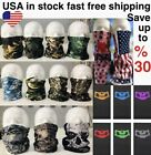 Camouflage Tube Face Mask Face Cover Bandanna  Neck Gaiter Scarf Balaclava Skull $7.89 USD on eBay